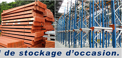 Racks de stockage d'occasion